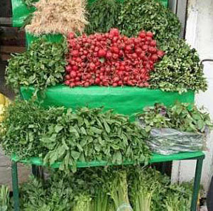 سبزیجات دزفول